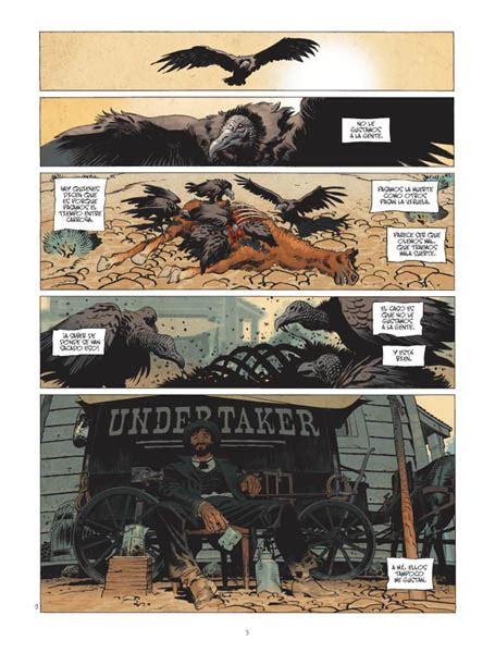undertaker 01 el devorador undertaker 1 el devorador de oro norma editorial