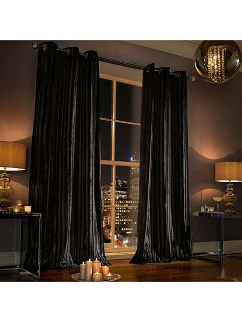 black curtains 90x90 kylie minogue iliana lined eyelet curtain in black 90x90