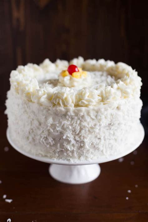 easy homemade coconut cake recipe scratch fresh coconut coconut cake with pineapple filling tastes better from