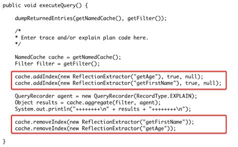 tutorial for oracle coherence 3 7 coherence queries indexes and explain plans