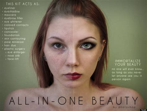 Makeup Ads photoshop ads reveal just how much photos are digitally altered