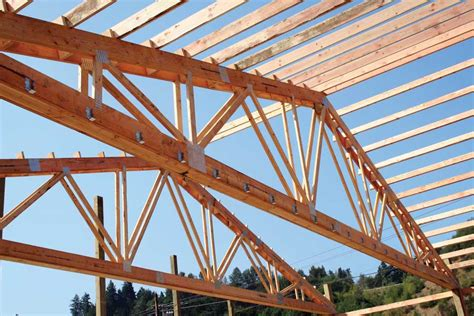 Building Shed Trusses by Garden Arbor How To Build A Pole Barn Truss Diy Wood Storage Shed Plans