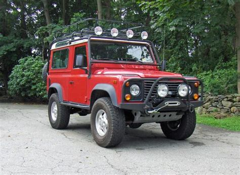 1997 land rover defender 90 cars for sale in needham massachusetts sell used 1997 land rover nas defender 90 d90 sw station wagon in middletown rhode island