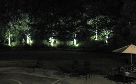 landscape spot light ledtronics led spotlights improve landscape lighting