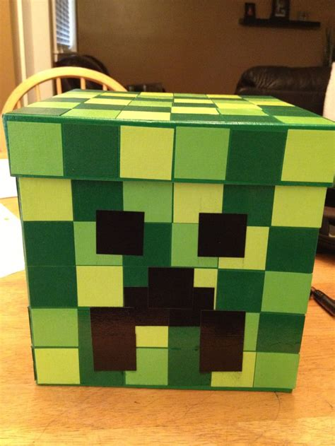 minecraft s day box minecraft creeper box s day