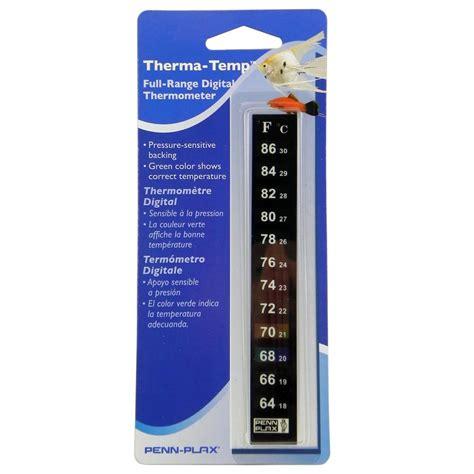 Termometer Akuarium thermometer digital aquarium stick on aquar thermometers at arcata pet supplies