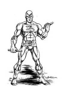 Draw Plans Online daredevil drawing by john ashton golden