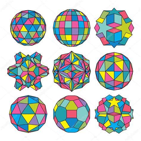 imagenes abstractas figuras geometricas esferas y figuras geom 233 tricas abstractas vector de stock
