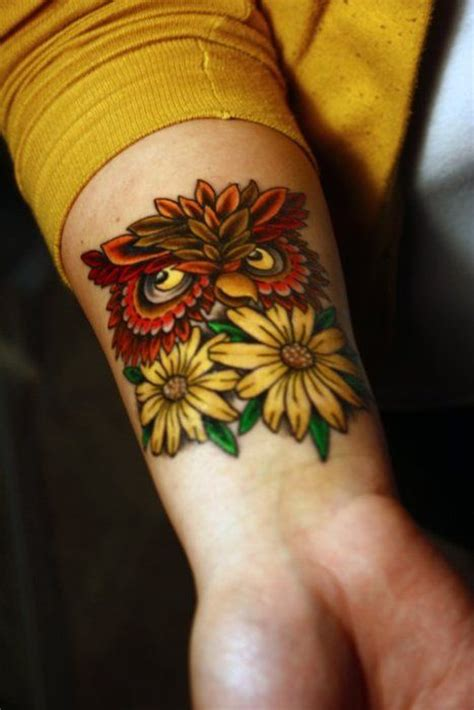tattoo owl love owl tattoo i love tattoos pinterest flor tatuaje