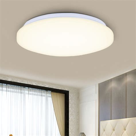 brightest ceiling light fixtures 24w round led ceiling light bright 2880 lumens 3 mode