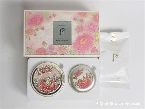 the history of whoo cushion review ค ชช นเกาหล หร หราท ส ดจาก the history of whoo