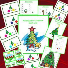 kindergarten christmas themed units 1000 images about christmas activities kindergarten math