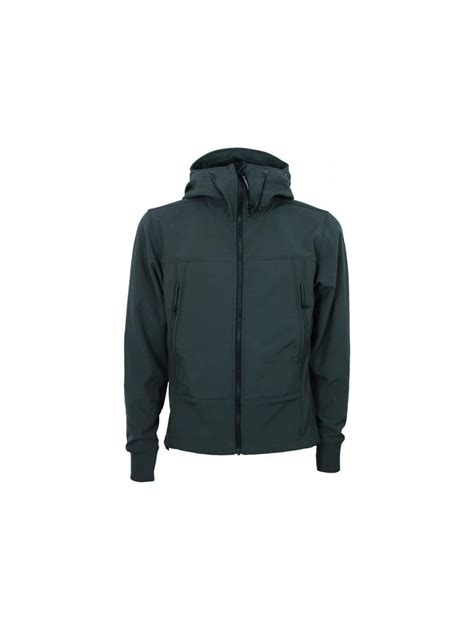 Cp Jaket Grey c p company soft shell goggle jacket in grey northern threads