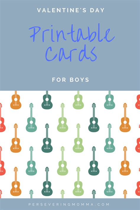 valentines for boys valentines day card printables for boys