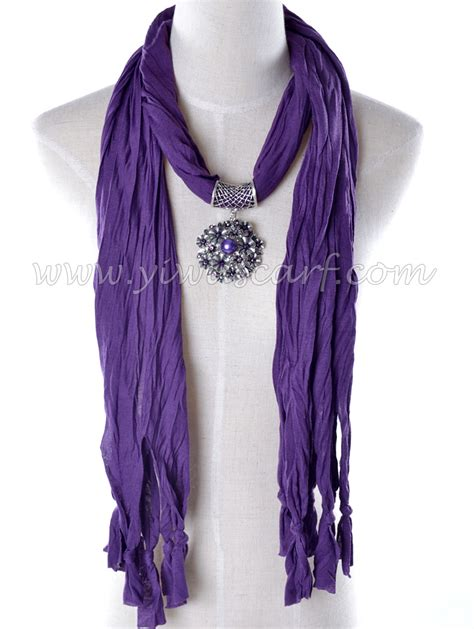 charming pendant scarf necklace china scarf
