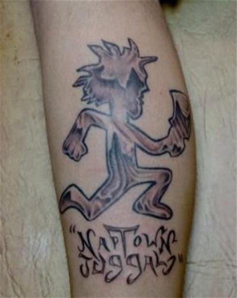 juggalette tattoos juggalo tattoos