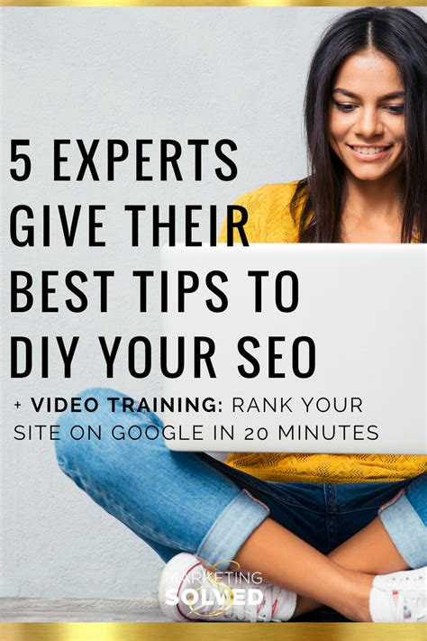 5 experts give their best tips to diy your seo marketing