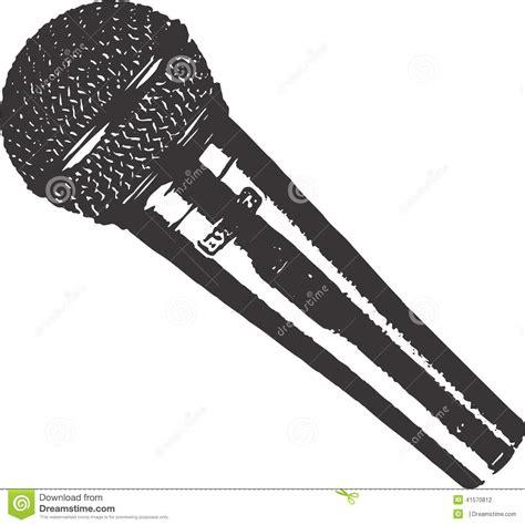 mikrofon vektorillustration clipart design vektor