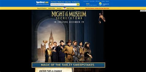 Tigerdirect Sweepstakes - tigerdirect s magic of the tablet sweepstakes