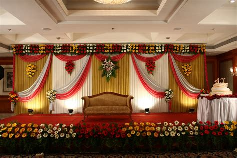 Wedding Reception Background Decorations by Simple Stage Decoration For Wedding Image Collections