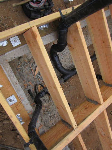 Underfloor Plumbing by Foundations Green Button Homes