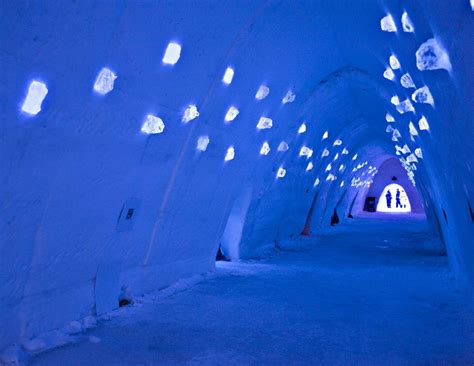 French Dining Rooms Montreal Snow Village Ice Hotel Travel