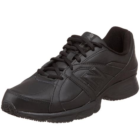 new balance mens mw512 walking service shoe in black for