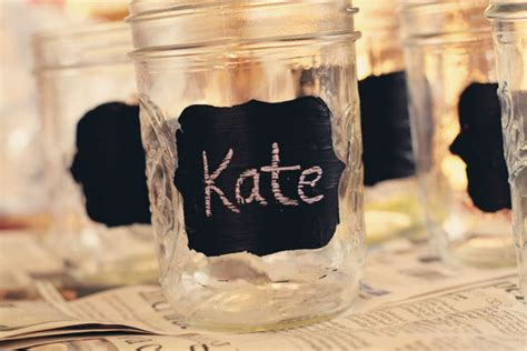 chalkboard paint jar labels frugal finds frappuccino bottles this nest is best
