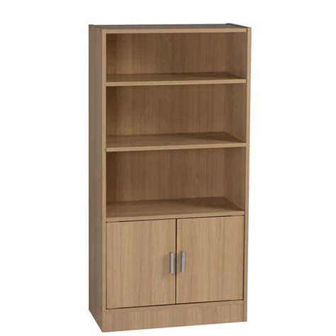 cyrus 2 door 3 shelf bookcase decofurn factory shop