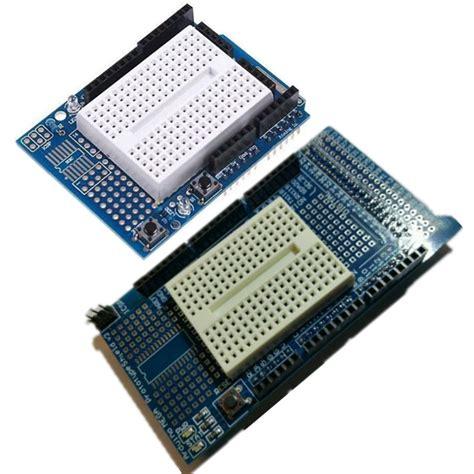 Arduino Uno Breadboard Protoshield Prototype Proto Shield prototype mit mini shield protoshield v3 breadboard for