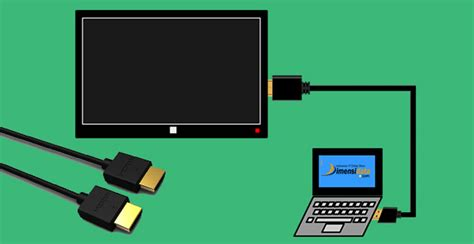 Tv Lcd Yang Bisa Buat Komputer cara menyambungkan laptop ke tv lcd menggunakan hdmi