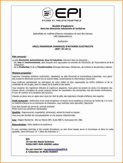 Lettre De Motivation Apb Ecole Ingenieur 233 Cole D Ing 233 Nieur Automatisme Post Bac
