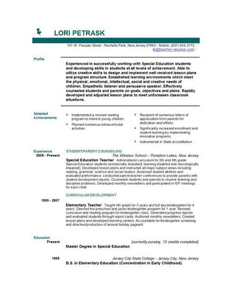 Career Objective Ideas For A Resume by 25 Best Ideas About Resume Objective On