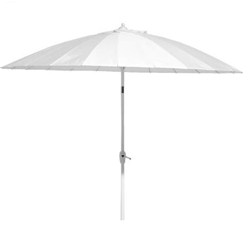 Parasol Inclinable by Parasol Blanc Inclinable Tao Parasol Mobilier De