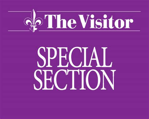 Special Section by Lenten Penitential Regulations The Visitor