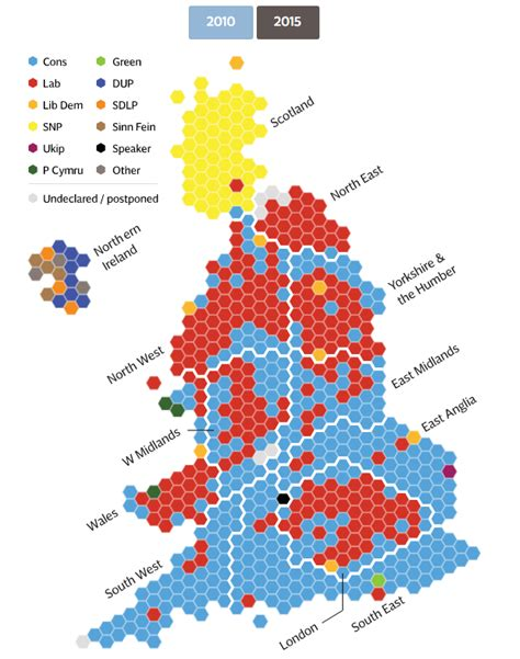 2015 uk election map election results 2015 map what s changed since 2010