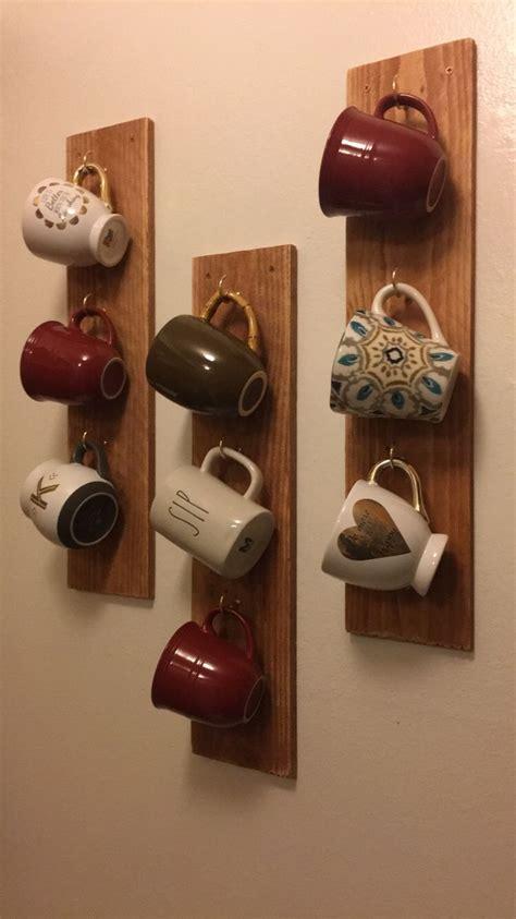 Hanging Coffee Mug Rack by 25 Best Ideas About Mug Rack On Coffee Mug