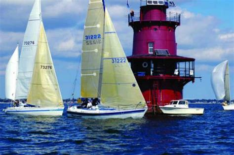 old point comfort yacht club round the lights race