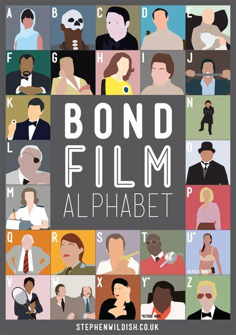 quiz questions james bond bond film alphabet poster that quizzes your james bond