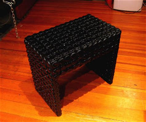 bottle cap bench ruff studio black bottle cap bench