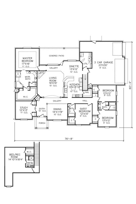 perry house plans floor plan 8098 2