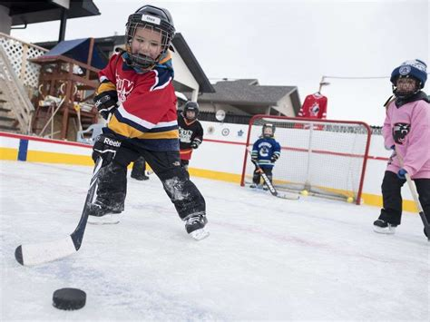 backyard hockey a regina grandpa made his grandchildren an amazing