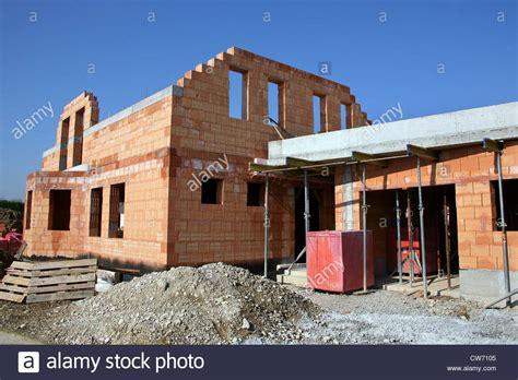 Bau Eines Hauses by Brick House Brick Buildings Stockfotos Brick House Brick