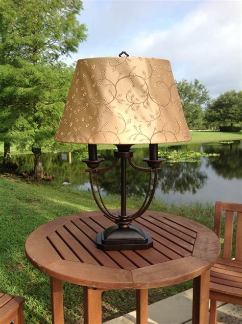 Kenroy Home Belmont Outdoor Table L Outdoor Ls For Patio Table Lights