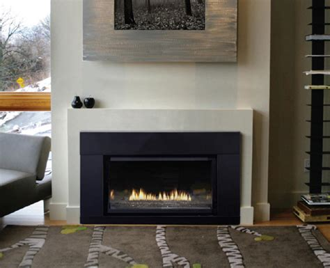 modern ventless gas fireplace inserts fireplace inserts gas with modern style decorazilla