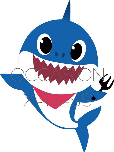 baby shark old version baby shark pinkfong individual sharks digital files from