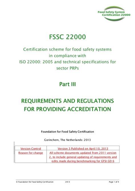 appointment letter format for team leader fssc 22000 guidance manual april 2013