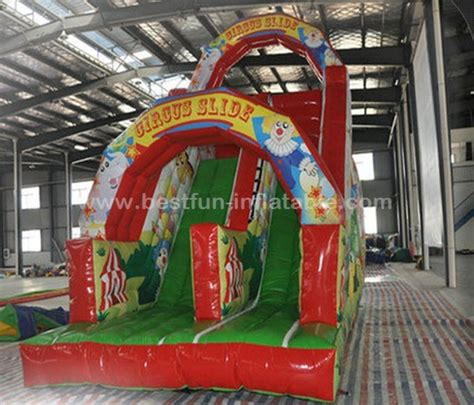 slides carnival themes inflatable circus clown theme dry slide manufacturers and