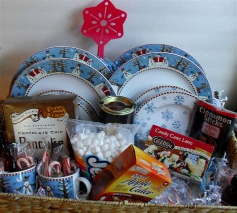christmas breakfast gift basket holiday christmas