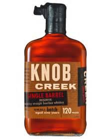 knob creek 9 year single barrel reserve bourbon 700ml